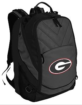 Amplia bahía mejor Universidad de Georgia mochila bolsa de ordenador portátil: Amazon.es: Deportes y aire libre