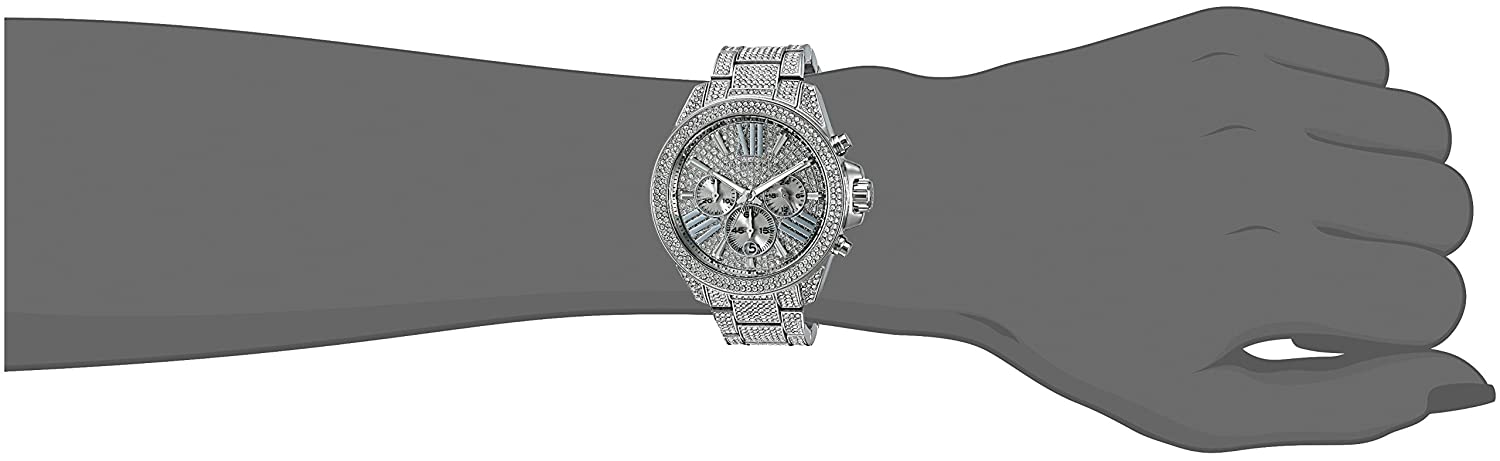 00d132b27c84 Amazon.com  Michael Kors Women s Wren Silver-Tone Watch MK6317  Michael Kors   Watches