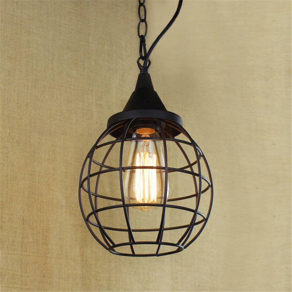 Modern LED Pendant Light Chandelier LED Pendant Lighting Apply to Contemporary Living Room Bedroom Dining Room Sepia Effect Movie Scene Living Room Stairs in-Room Iron Chandeliers 175mm265mm