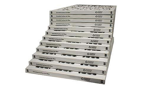 Sterling Seal FI-8002-SP1x2 Purolator Hi-E 40 Extended Surface Pleated Air Filter Pack of 2 Pack of 2 18 Width x 18 Height x 2 Diameter Mechanical MERV 8 18 Width x 18 Height x 2 Diameter