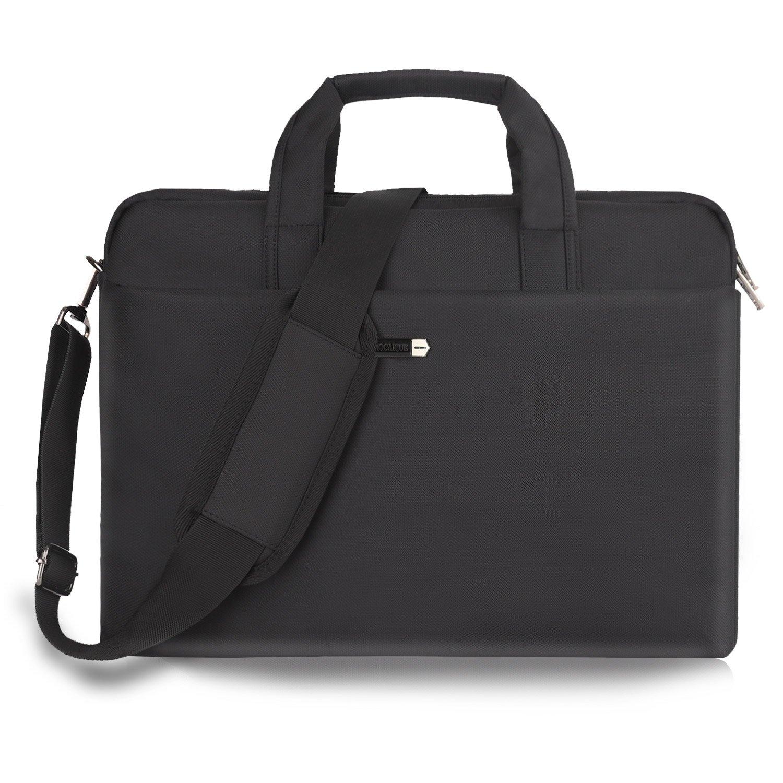 15.6 Inch Laptop Bag Laptop Messenger Bag Multi-functional Laptop Case Water-Resisatant Nylon Business Office Computer Bags for Men Women Fit Notebook Hp Dell Lenvo Asus Toshiba Acer Apple
