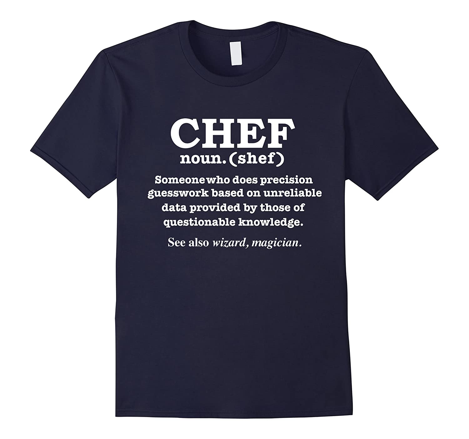 Funny Chef Definition T-shirt Culinary School Artists Cooks-azvn
