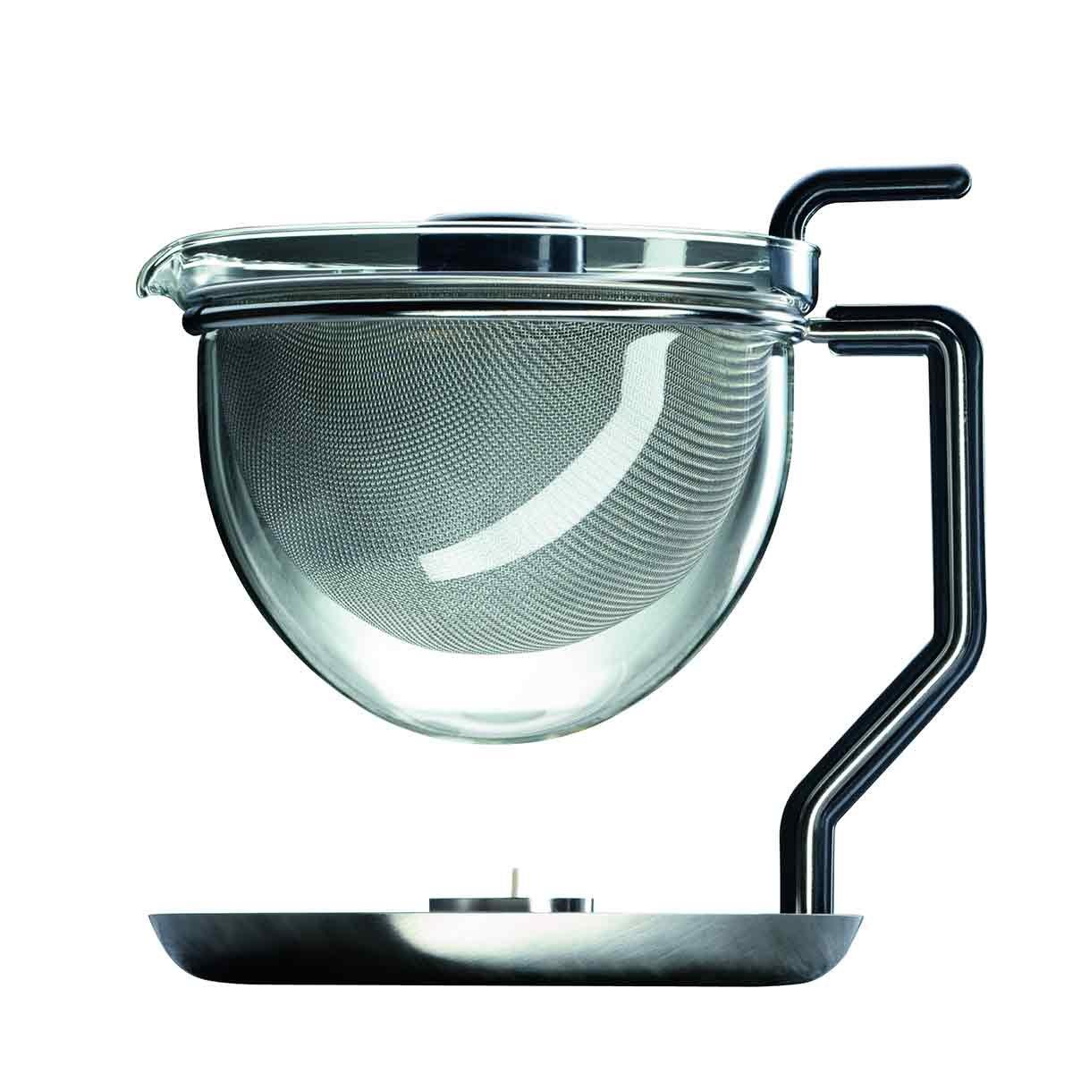 mono 10400 Mono Classic Teapot with Integrated Warmer by Tassilo von Grolman
