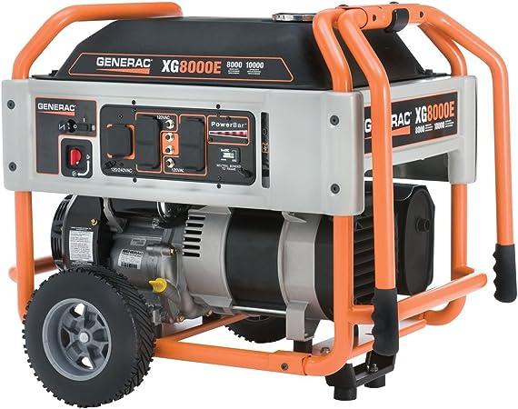 Amazon.com: Generador portátil de gasolina con ruedas ...