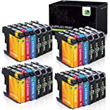 JARBO Compatible Ink Cartridge Replacement for Brother LC103 LC103XL LC101 LC101XL, Compatible for Brother MFC J870DW J450DW