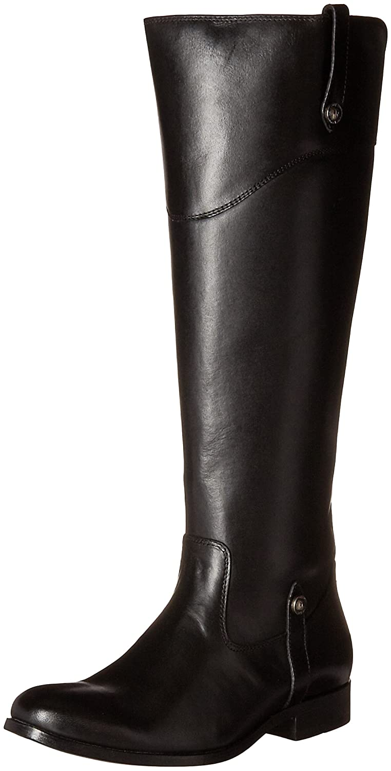 FRYE Women's Melissa Tab Tall Riding Boot B019RQWQYA 8 B(M) US|Black Extended