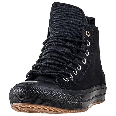 ... lining dcfa6 dbe8e  cheap converse womens chuck taylor all star  waterproof boot hi black nubuck boots 8 us c7de3 9338b9910