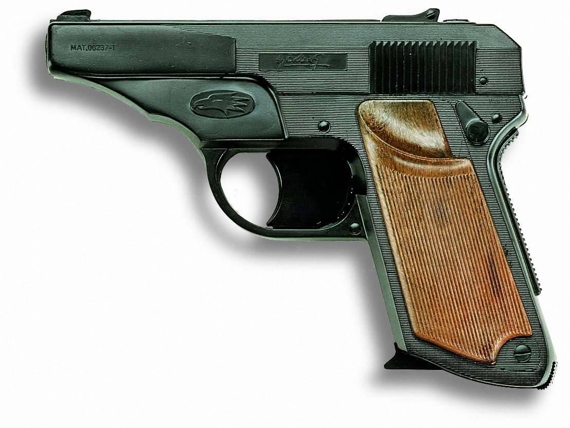 New EDISON GIACATTOLI FALCON 13 shots cap gun pistol Kids Gift Toy play firearm Cowboy pistol revolver