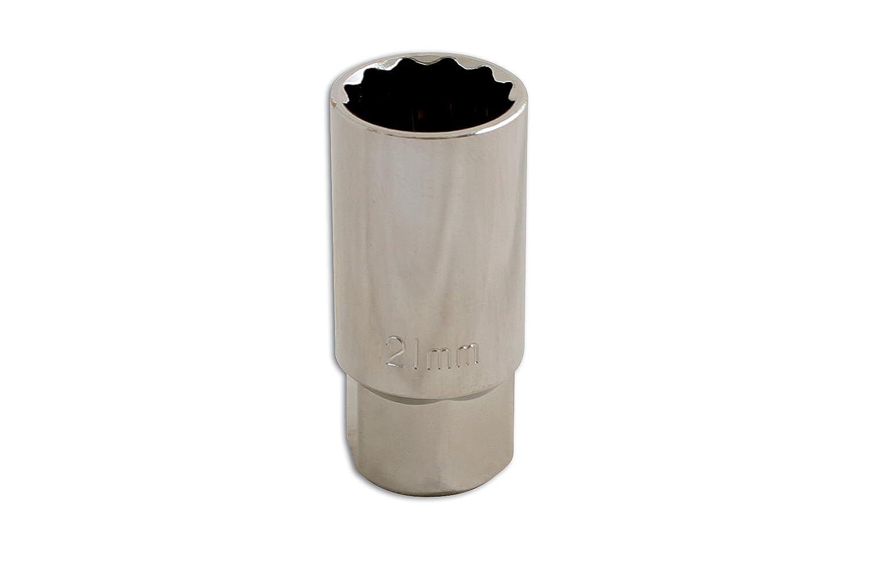 Laser 0101 - Llave de vaso de bujía doble (21 mm): Amazon.es: Coche y moto