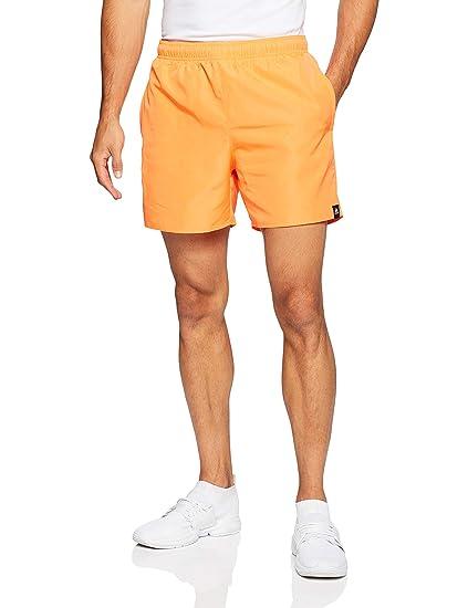 fb37dda0d9926d adidas Herren Solid Short Length Badehose, Hi-Res Orange, M
