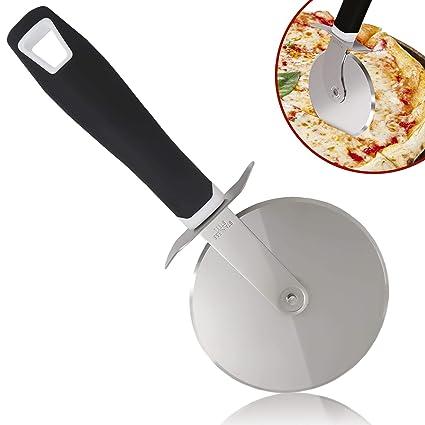 Amazon.com: Zulay – Rueda cortadora de pizza – Rueda de ...