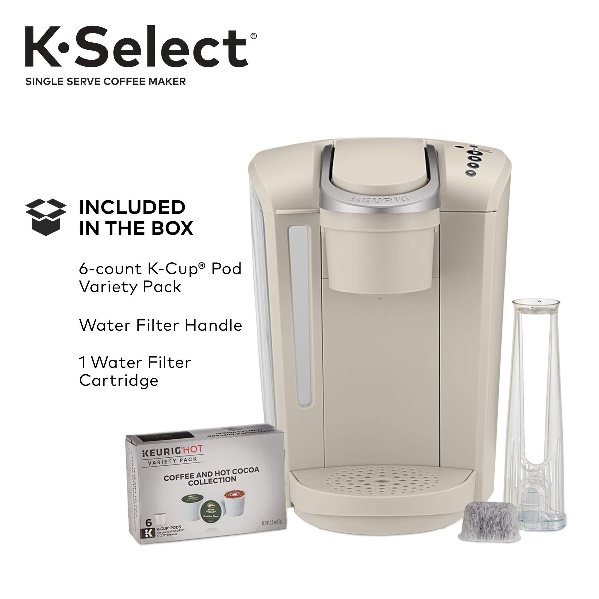 Keurig K-Select Single-Serve K-Cup Pod Coffee Maker, Sandstone by Keurig (Image #8)