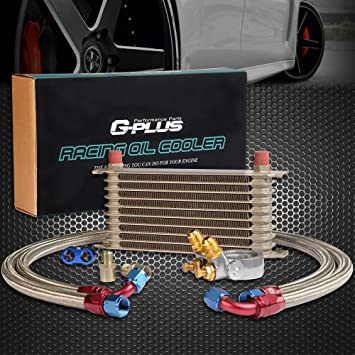 Amazon.com: Gplus 10 fila Termostato adaptador Motor Racing ...