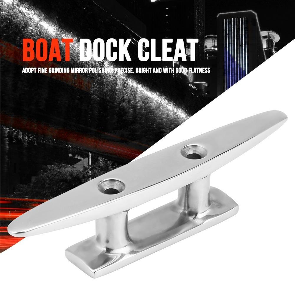 4 pollici Acciaio inossidabile Bitta per ormeggio per barche per Marino Yacht Tacchetta per barca