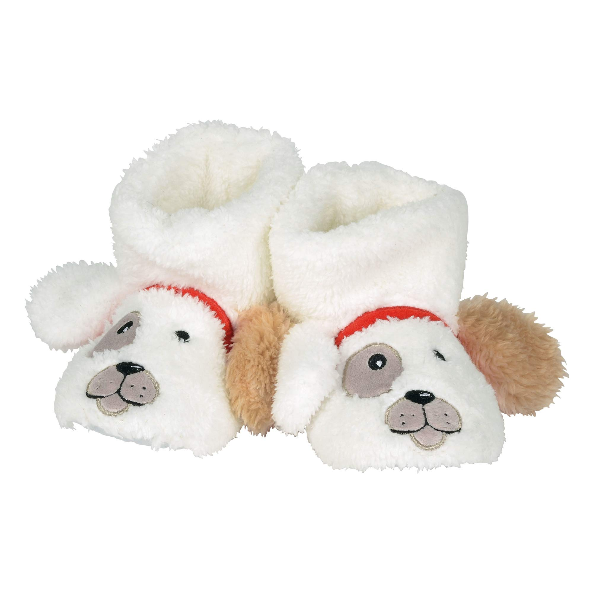 """Department 56 Snowpinions """"Dog Slippers, Child Small Size 7-8, Multicolor"""
