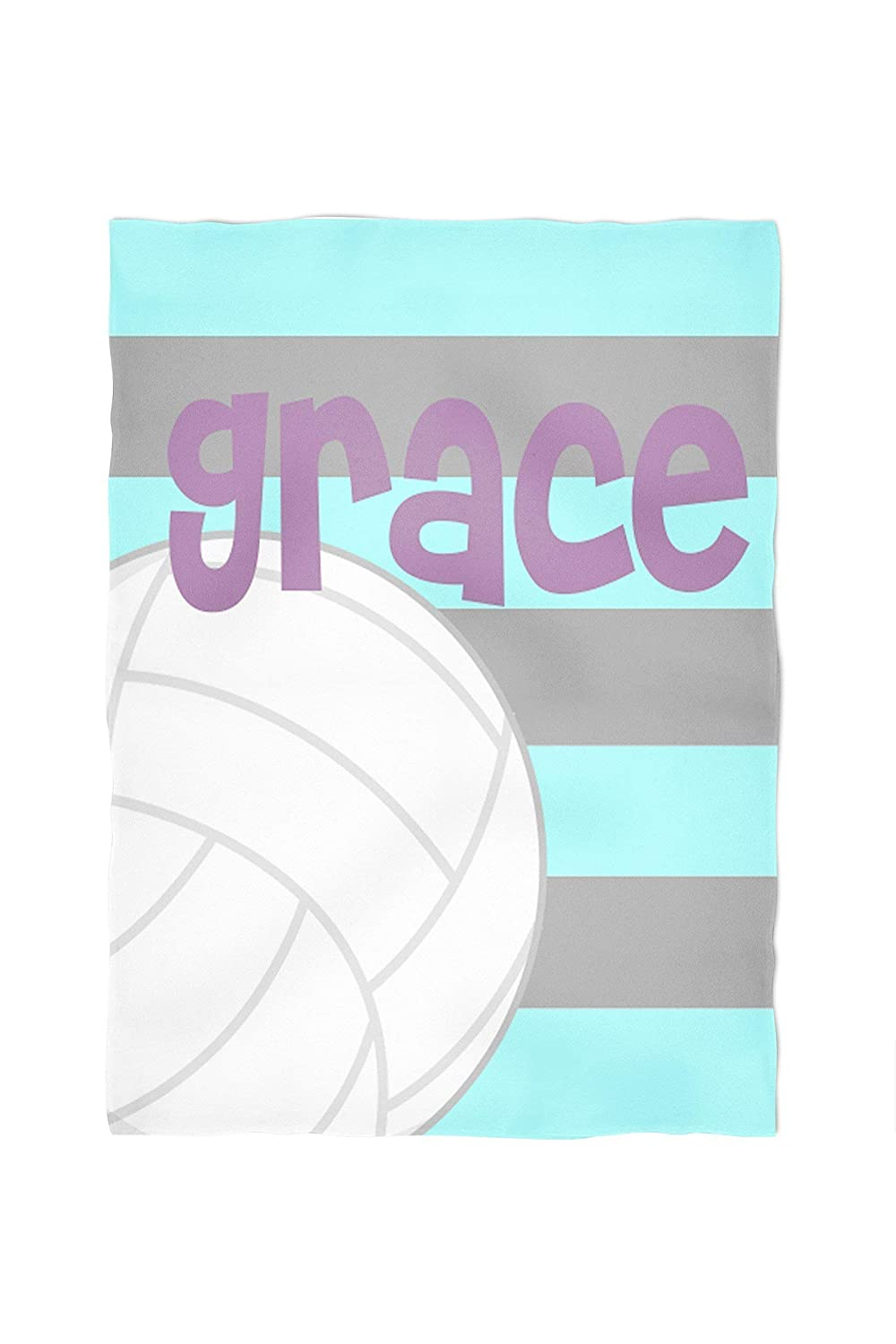 Volleyball Personalized Throw Blanket