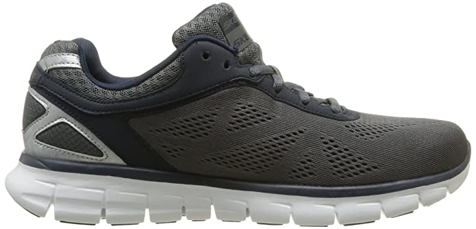 Skechers Synergy Power Shield - Zapatillas de Material sintético Hombre, Color Gris, Talla 39: Amazon.es: Zapatos y complementos