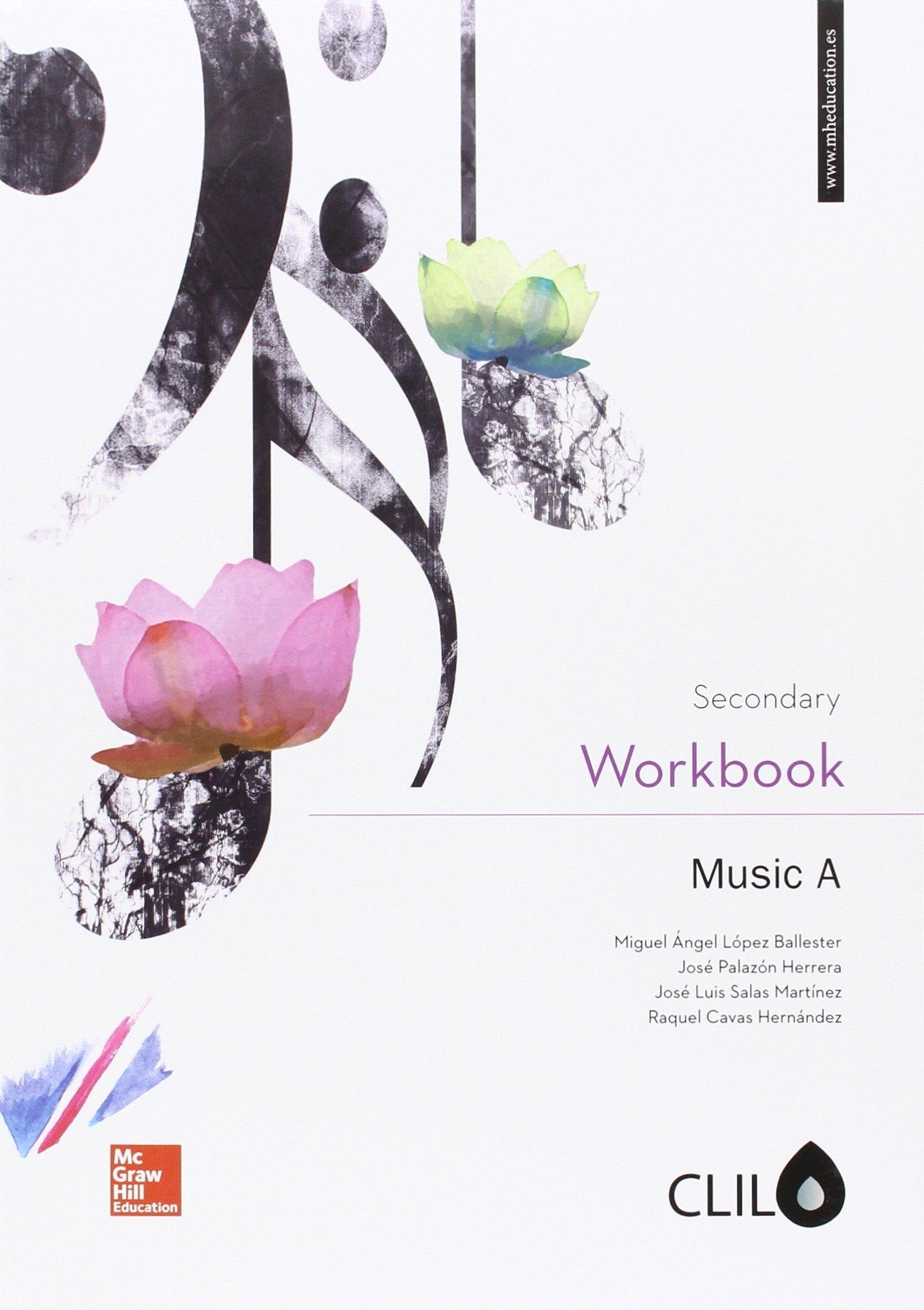 Music A Secondary. Clil. Workbook - 9788448608958 Tapa blanda – 19 ago 2016 844860895X Educational material Educational: Music YQ