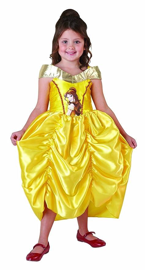 97271756db1b Costume Belle economico La Bella e la Bestia bimba 5-6 anni: Amazon ...