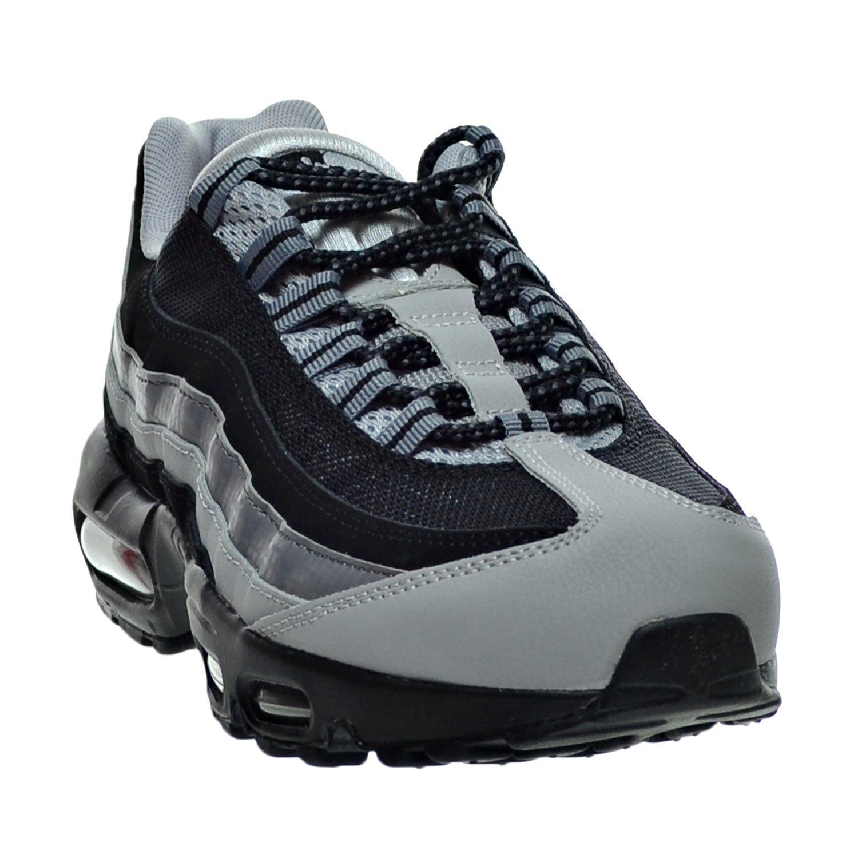 Mens Nike Air Max 95 Essential Black Wolf Grey Classic Grey 749766 005 Running Shoes 749766 005