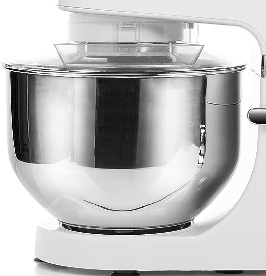 Tristar MX-4804 - Robot de Cocina, 700 W, 4.5 L, 6 Velocidades, Acero Inoxidable, Color Blanco: Amazon.es: Hogar