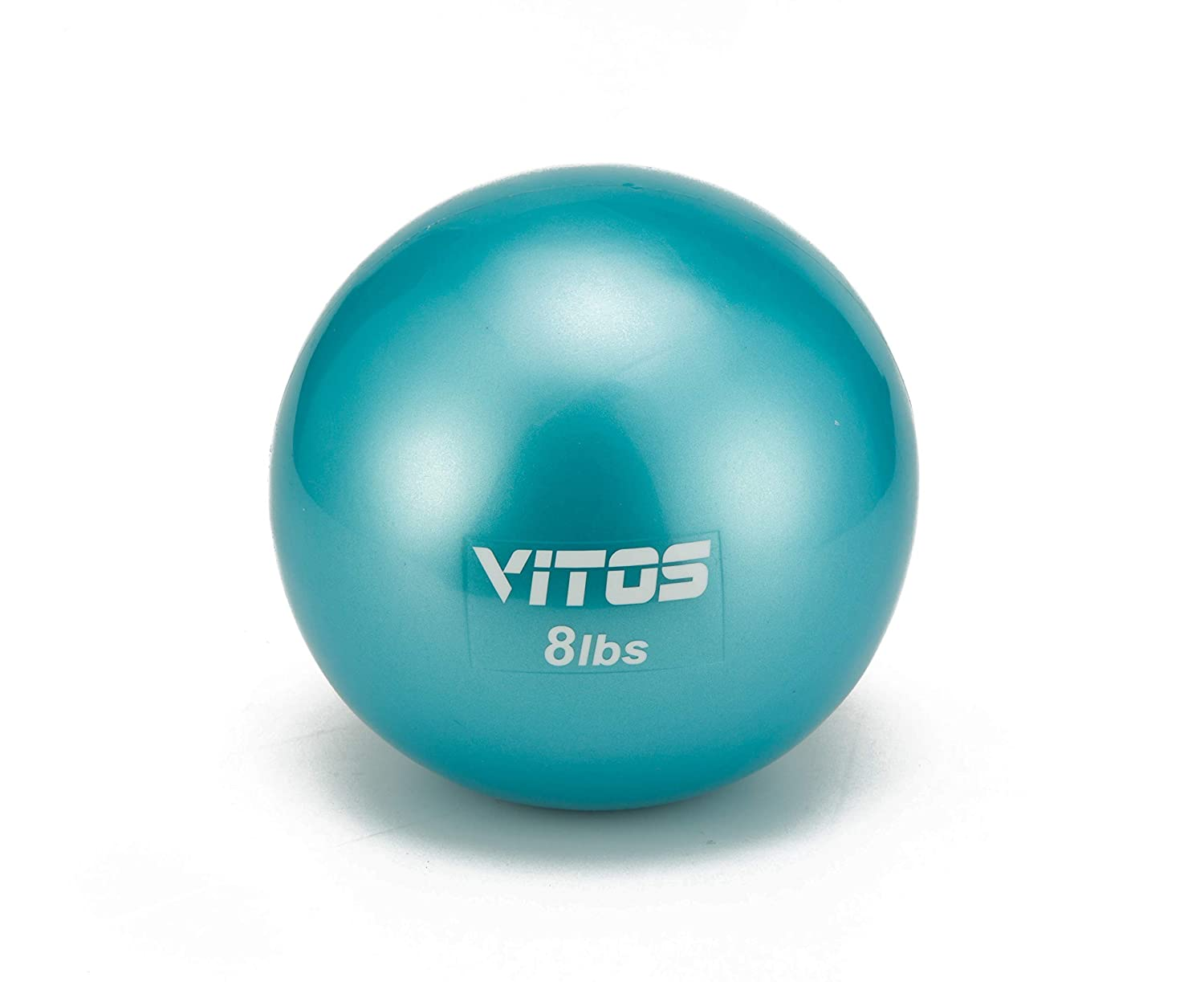 Vitos Fitness Toning Soft Weighted Mini Ball Medicine Ball for Core Training Yoga Exercise