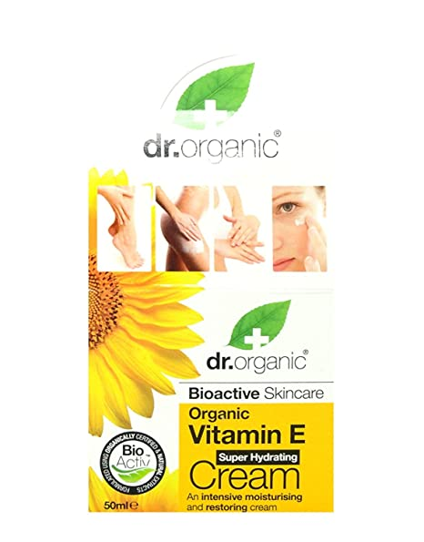 Dr Organic Crema Facial Vitamin E 50 ml