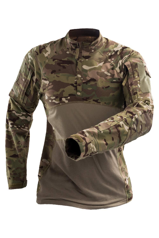 COSMOVIE Men's Combat Uniform Tactical Military Army Outdoor Camouflage Jacket Coat