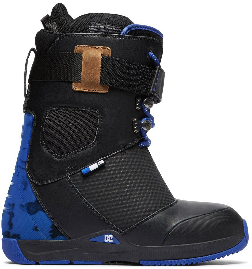 DC Shoes Mens Shoes Tucknee - Lace-Up Snowboard Boots - Men - US 9.5 - Black Black US 9.5 / UK 8.5 / EU 42.5