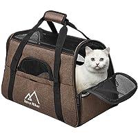 Terra Hiker Bolsa de Transporte para Perros/Gatos, Transportadoras para Mascotas, 42 cm x 20 cm x 30 cm, Aprobado por Compañías Aéreas