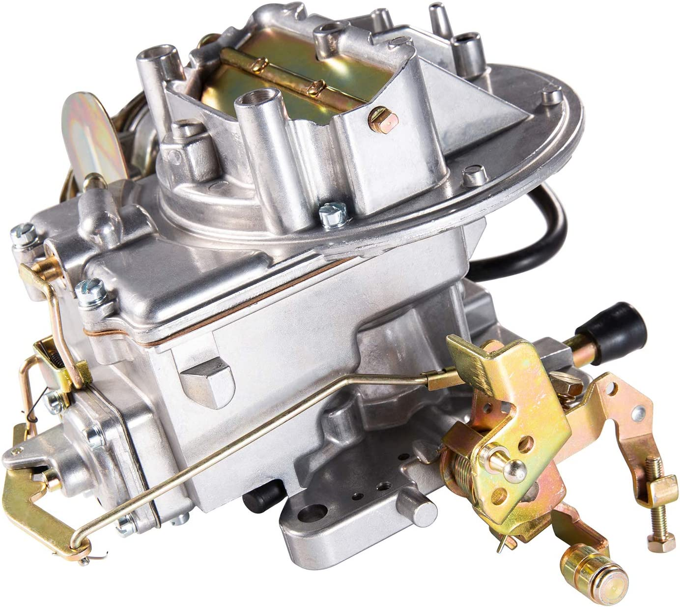 2 Barrel Carburetor 2100 A800 for Mustang Engine 289 302 351 Cu fit Jeep Wagoneer 1964~1978 Engine 360 Cu with Mounting Gasket and Automatic Choke Carburetor for Ford F100 F250 F350