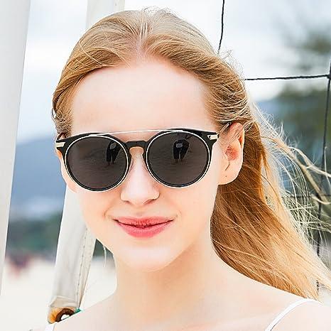 WWF Gafas de Sol polarizadas Moda Mujer Moda Color Película ...