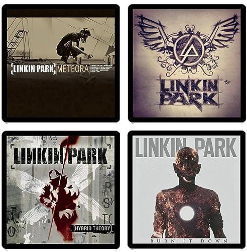 Amazon Com Linkin Park Collectible Coaster Gift Set 1