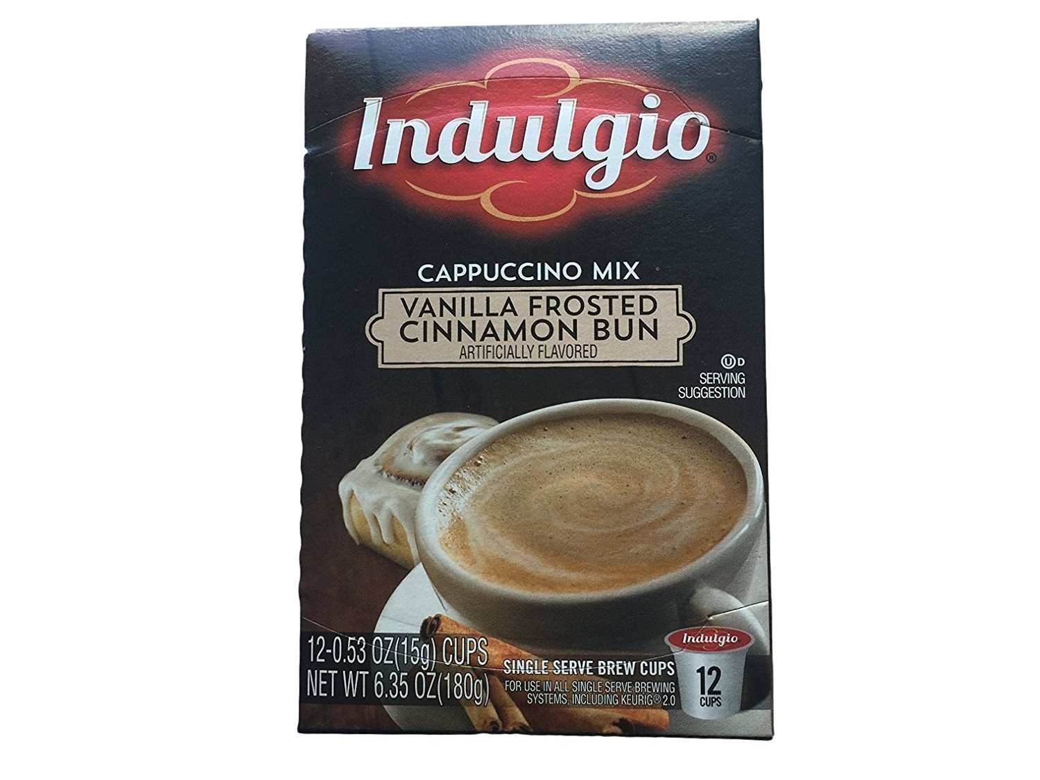 Indulgio Cappuccino Sweet & Salty Caramel 12 Count Single Serve