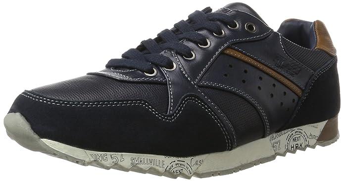027-57, Mens Low-Top Sneakers His