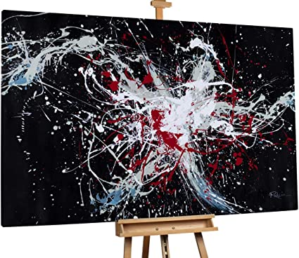 Kunstloft® Extraordinario Cuadro al óleo Arte de Luces 180x120cm ...