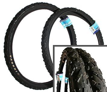 Inova Tore two 26 x 2 0 innova hybrid mountian bike bicycle tyres tires black