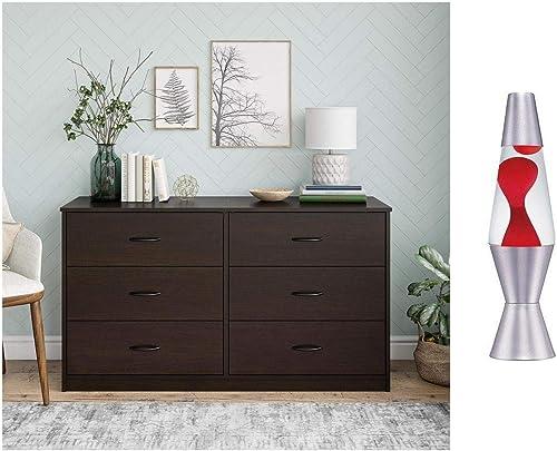 Mainstay 4-Drawer Dresser A Espresso