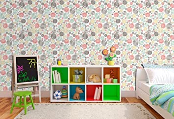 Buy Printelligent Baby Theme Peel And Stick Wallpaper Self Adhesive Small Roll 45 Sq Ft Online At Low Prices In India Amazon In