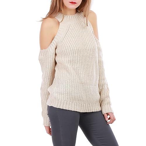 La Modeuse –  Maglione  – Donna beige L / XL