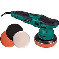 VONROC Excentrische polijstmachine – 650W – Ø125mm – Soft start – Vast vermogen & 5 polijstschijven