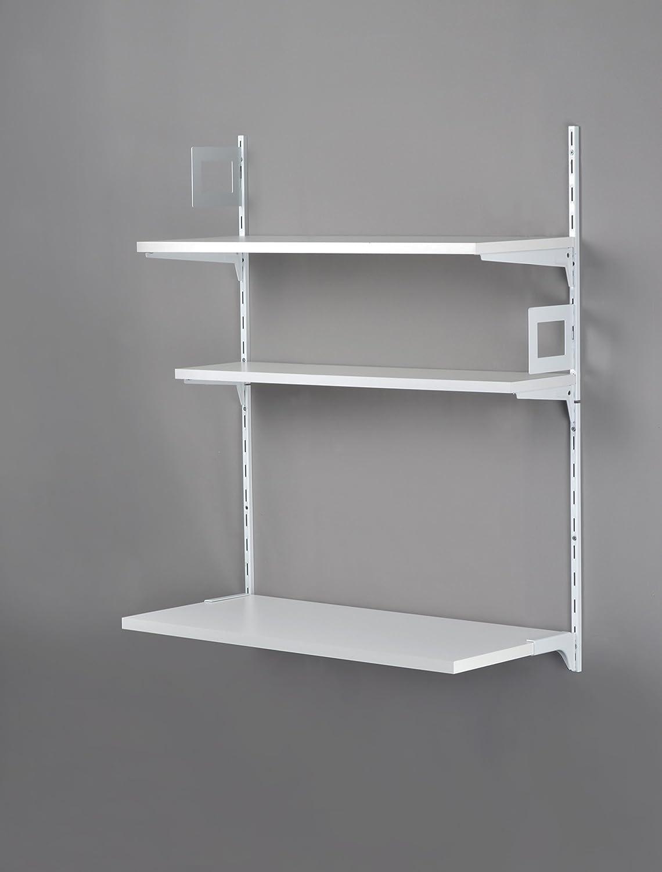 Element System Set de escritorio Secretary/Juego/de estantes estante de pared 807 x 997 X 385 mm, color blanco, 11362 – 00000