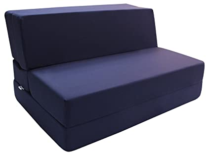Merax Convertible 5 Folding Foam Sleeping Mattress Sofa Bed And Floor Mat,  74inx39inx5in,