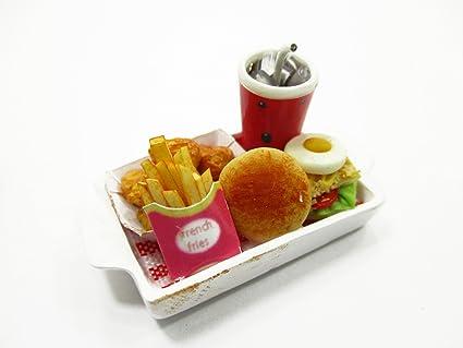 10 pcs Dollhouse miniature Fried Chicken