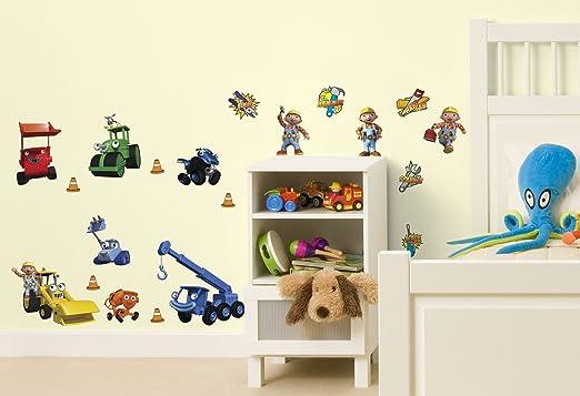 Delightful Decofun, Bob The Builder Wall Sticker Stikarounds: Amazon.co.uk: Kitchen U0026  Home Design Inspirations