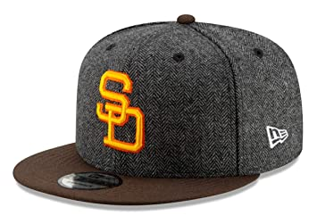 5ce3b75fce6 Image Unavailable. Image not available for. Color  New Era San Diego Padres  9FIFTY MLB Cooperstown Pattern Pop Snapback Hat