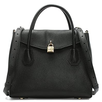045bd3bfef659a Michael Kors Mercer Large Black Leather All In One Backpack Tote Bag: Amazon .co.uk: Shoes & Bags