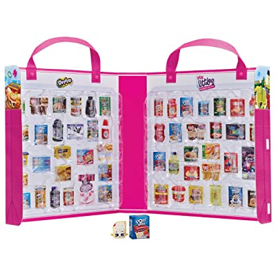 Shopkins HPKF9000 Flair Real Littles Mini Packs Collector's Case, Multicolour: Toys & Games