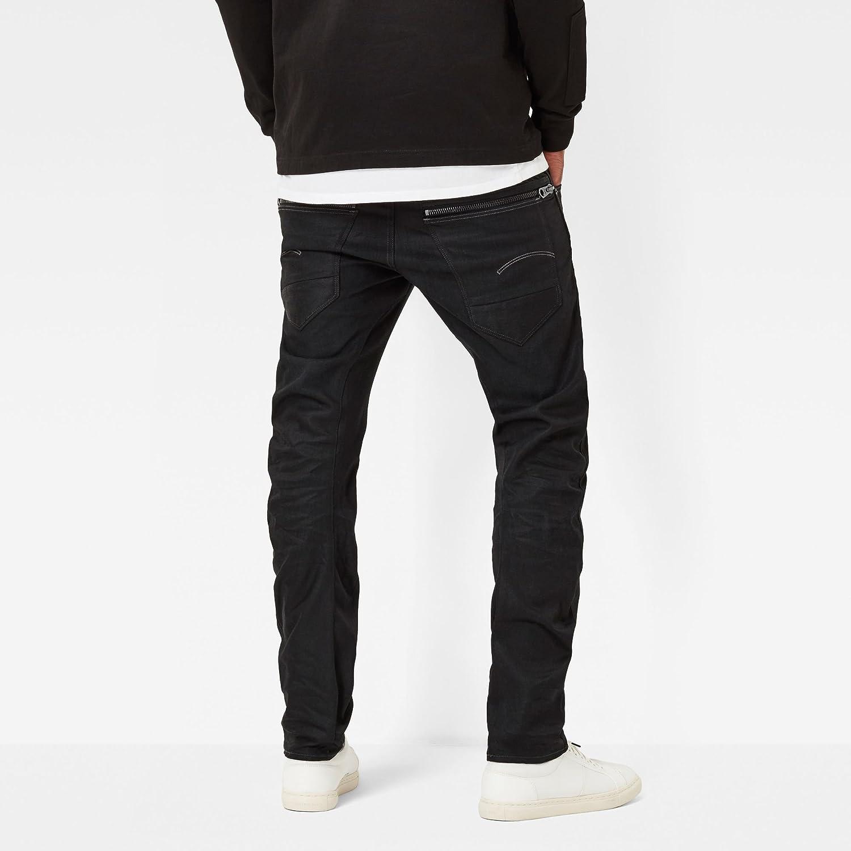 G-Star Raw Mens Arc Zip 3D Slim-Fit Jean in Hoist Black Denim