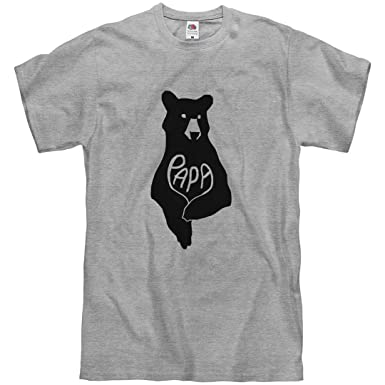 b84b9405eb Amazon.com  Papa Bear Father s Day Shirt  Unisex T-Shirt  Clothing